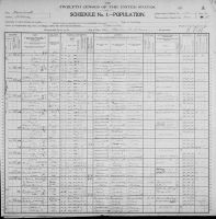 KIRKLAND, William and Family - 1900 US Federal Census