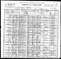 SCHULER, Mathias and Family - 1900 US Federal Census